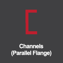 Channels-parallel-flange